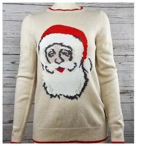 Joe Fresh Santa Clause Face Christmas Sweater